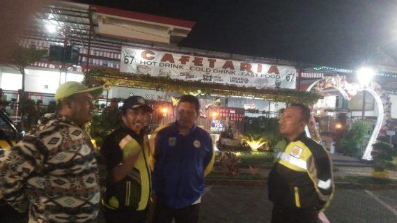 Polsek Bumiaji Polres Batu Patroli Perbatasan Kota demi kamtibmas