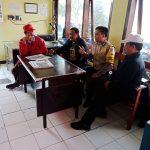 Bhabinkamtibmas Kelurahan Temas Polsek Batu Kota Sambang Satpam Pasar Besar Batu Untuk Peningkatan Pam Swakarsa