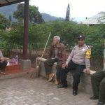 Sambang Kamtibmas Bhabinkamtibmas Kelurahan Songgokerto Polsek Batu Kota Polres Batu Sampaikan Pesan Kamtibmas