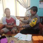 Pelayanan Prima Kepolisian Bhabinkamtibmas Kelurahan Temas Polsek Batu Kota Sampaikan Berlakunya SIM