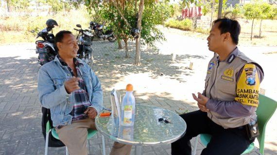 habinkamtibmas Kelurahan Temas Polsek Batu Polres Batu Tingkatkan Silaturahmi Sambangi Tokoh Masyarakat