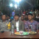 Giat Rangkaian HUT RI KE 73 Bhabinkamtibmas Kelurahan Songokerto Polsek Batu Kota Menghadiri Pentas Seni Warga