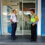 Peningkatan Pam Swakarsa Bhabinkamtibmas Kelurahan Temas Polsek Batu Kota Polres Batu Sambang Satpam Bank Panin