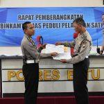 Tingkatkan Pelayanan, Polres Batu Inisiasi Bhabinkmtibmas Peduli Pelayanan Satpas