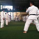 Kanit Sabhara Polsek Ngantang Polres Batu mengadakan giat pelatihan beladiri Polri dalam rangka Ukp Brigadir periode 1 Jan 2019