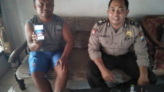 Giat Polres Batu Anggota Polsek Kasembon Melaksanakan Sambang Kunjungan Ke Tomas