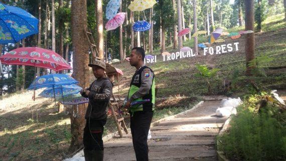 Upaya Preventif Juga Jalin Kerjasama Dengan Masyarakat, Polres Batu Polsek Pujon Sambang Wisata