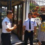 Tingkatkan Pam Swakarsa Bhabin Desa Pesanggrahan Polsek Batu Kota Sambang Satpam Hotel Orchid Batu