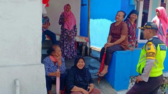 Upayakan Preventif Gaet Mitra Dengan Masyarakat, Bhabinkamtibmas Desa Sumberejo Polsek Batu Kota Polres Batu