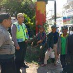 Giat Sambang Warga Dan Silaturahmi Dengan Linmas Bhabinkamtibmas Kelurahan Temas Polsek Batu Polres Batu serap aspirasi masyarakat