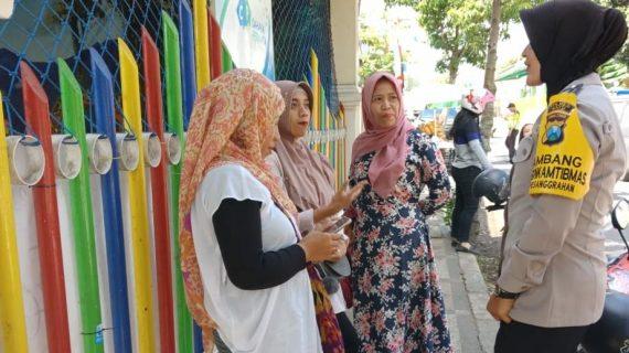 Jalin Mitra Di Masyarakat Dengan Pendekatan, Polsek Batu Kota Polres Batu Sampaikan Rawan Kriminalitas