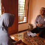 Kunjungan Kerukunan Tetangga Bhabinkamtibmas Temas Polsek Batu Sampaikan Pesan Kamtibmas Jaga Wilayah Kamtibmas