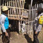 Dalam Rangka Sambang Desa, Anggota Bhabin Melakukan Penyerahan Sarana Kontak Bhabinkamtibmas Desa Pesanggrahan Polsek Batu KotaPolres Batu