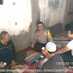 Langkah Preventif Polri Kepada Masyarakat, Sambang Dan Silaturahmi Tokoh Masyarakat Bhabin Kelurahan Songgokerto Polsek Batu Polres Batu