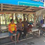Pelaksanaan Sambang Ke Pangkalan Ojek Bhabinkamtibmas Kelurahan Ngaglik Polsek Batu Kota Polres Batu Sampaikan Pesan Kamtibmas Tatib Lalin