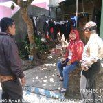 Silaturahmi Tokoh Parpol Bhabinkamtibmas Kelurahan Songgokerto Polsek Batu Kota Sampaikan Pesan Kamtibmas