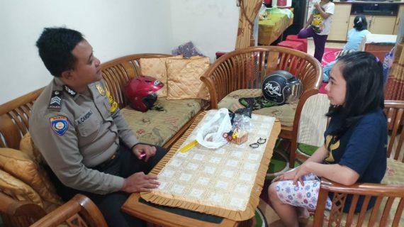 Giat DDS dan Tatap Muka, DDS Sambang Warga Bhabin Desa Sidomulyo Polsek Batu Kota Polres Batu Sampaikan Pesan Kamtibmas
