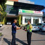 Langkah Preventif Polri Kepada Masyarakat, Bhabinkamtibmas Kelurahan Temas Polsek Batu Polres Batu Sambang Satpam