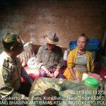 Anggota Bhabinkamtibmas Tatap Muka dan Silaturahmi, Bhabinkamtibmas Sambang Lansia Bhabin Kelurahan Songgokerto Polsek Batu Kota Polres Batu Jalin Kedekatan Masyarakat