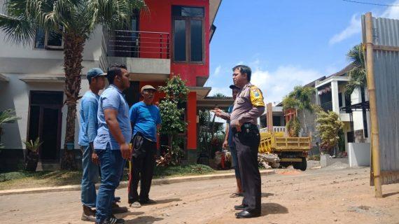 Polsek Batu Kota Polres Batu Sampaikan Pesan Kamtibmas Wilayah Selalu Kondusif