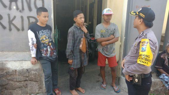 Kegiatan Sambang Binluh Kamtibmas Bhabin Kelurahan Temas Polsek Batu Kota Polres Batu