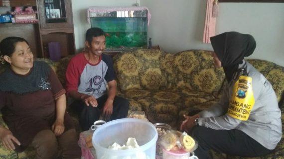 Bhabinkamtibmas Desa Pesanggrahan Polsek Batu Kota Polres Batu Jalin Silaturahmi Lakukan Sambang Tokoh Masyarakat