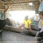 Kegiatan Sambang Pagi Kunjungan Potensi Ternak Bhabin Kelurahan Songgokerto Polsek Batu Jaga Wilayah Agar Selalu Aman