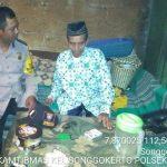 Sambang Warga Lansia Bhabinkamtibmas Kelurahan Songgokerto Polsek Batu Kota Polres Batu Jalin Kemitraan Erat