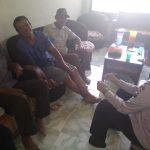 Bersilaturahmi Kamtibmas Bhabin Desa Pesanggrahaan Polsek Batu Kota Polres Batu