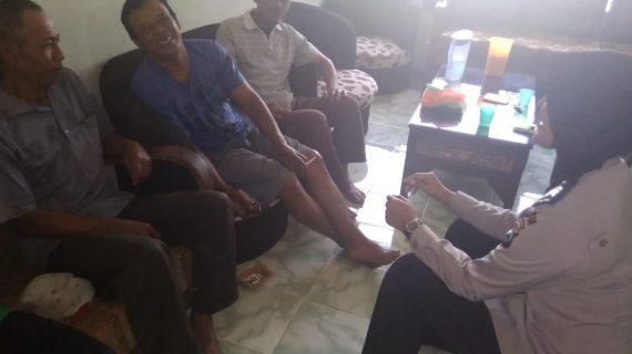 Giat DDS dan Tatap Muka, Silaturahmi Kamtibmas Bhabin Desa Pesanggrahaan Polsek Batu Kota Polres Batu