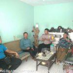 Bhabinkamtibmas Kelurahan Songgokerto Polsek Batu Kota Polres Batu Sampaikan Pesan Kamtibmas Jaga Kerukunana Masyarakat Wilayah Binaanya