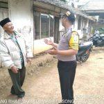 Silaturahmi Tokoh Masyarakat Bhabinkamtibmas Kelurahan Songgokerto Polsek Batu Kota Polres Batu