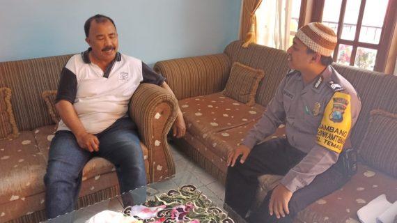Kegiatan Sambang Silaturahmi Kamtibmas dan Door To Door System Kunjungan Kamtibmas Ke Tokoh Masyarakat Bhabinkamtibmas Temas Polsek Batu Kota Polres Batu