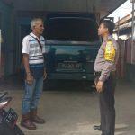Peningkatan Pam Swakarsa Bhabinkamtibmas Kelurahan Temas Sambang Satpam MAN Batu