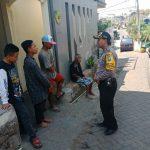 Upayakan dan Bangun Preventif di Wilayah, Sambang dan Binluh Kamtibmas Bhabinkamtibmas Kelurahan Temas Polsek Batu Kota Polres Batu