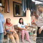 Giat Sambang Sore Kunjungan Kerukunan Tetangga Bhabinkamtibmas Kelurahan Songgokerto Polsek Batu Kota Polres Batuserap aspirasi warga dan dalam rangka Harkamtibmas