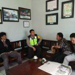 Upayakan dan Bangun Preventif di Wilayah, Silaturahmi Kamtibmas Bersama Perangkat Kelurahan Bhabinkamtibmas Kelurahan Sisir Polsek Batu Kota