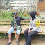 Sambang Desa Bhabinkamtibmas Pesanggrahan Polsek Batu Kota Jalin Kemitraan
