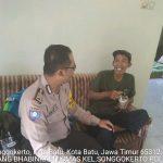 Sambang Kunjungan Warga Bhabinkamtibmas Kelurahan Songgokerto Polsek Batu Kota Polres Batu