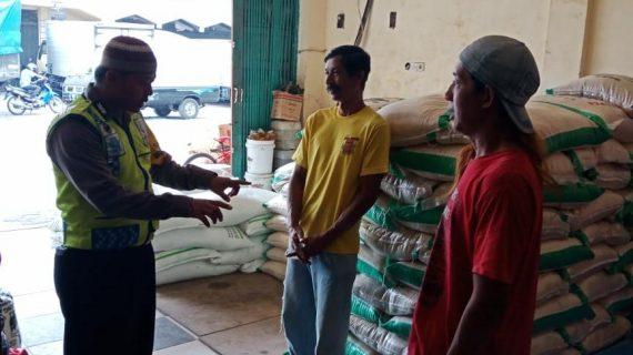 Langkah Preventif Polri Kepada Masyarakat, Bhabinkamtibmas Kelurahan Temas Polsek Batu Polres Batu Sampaikan Pesan Kamtibmas