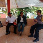 Sambang Satpam Pengemban Fungsi Kepolisian Terbatas Bhabin Kelurahan Temas Polsek Batu Kota Sampaikan Peningkatan Pam Swakarsa