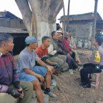 Sambang Ke Pangkalan Ojek Bhabinkamtibmas Kel Temas Polsek Batu Kota Sampaikan Pesan Kamtibmas Tatib Lalin