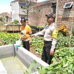 Perlancar Mitra Kerja di Masyarakat Binaannya, Polsek Batu Kota Polres Batu Kunjung Ke Kawasan Rumah Pangan Wilayahnya