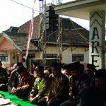 Giat Bhabinkamtibmas Bersama 3 pilar Menghadiri Selamatan Desa Ngabab