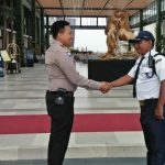 Peningkatan Pam Swakarsa Bhabinkamtibmas Kelurahan Sisir Polsek Batu Kota Sambang Satpam Golden Tulip Batu