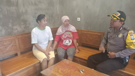 Wilayh Aman, Bhabinkamtibmas Polsek Batu Kota Polres Batu Jaga Kerukunan Tetangga Agar Wilayah Aman