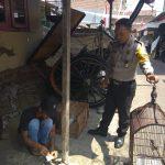 Giat Sambang Silaturahmi Kamtibmas Polsek Batu Polres Batu ke warga kelurahan Ngaglik berikan Binluh pelaksanaan Pilpres 2019