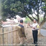 Guna Capai Mitra Masyarakat yang Baik, Sambang Pagi Bhabinkamtibmas Kelurahan Songgokerto