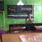 Anggota Bhabinkamtibmas Polsek Pujon Polres Batu Brig Ainul Heri Menghadiri Undangan Triwulan Khotimul Qur'an