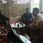 Kegiatan Sambang dan Silaturahmi Tokoh Masyarakat Bhabinkamtibmas Kelurahan Sisir Polsek Batu Kota Sampaikan Pesan Kamtibmasserap aspirasi warga binaan dalam rangka Cipkon